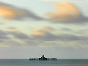 Editions of 17<br /> Skeletal remains of a Victorian Pier off the coastal beach of Herne Bay near Dover in the UK, Old Herne Bay Pier was originally built in 1895 and was 3787 ft from beach to pier