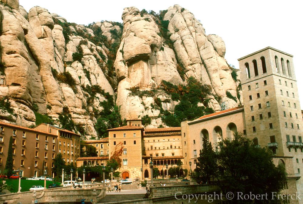 SPAIN, CATALUNYA Montserrat: Benedictine Monastery