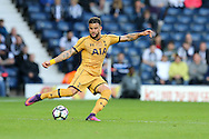 Kyle Walker of Tottenham Hotspur in action.Premier league match, West Bromwich Albion v Tottenham Hotspur at the Hawthorns stadium in West Bromwich, Midlands on Saturday 15th October 2016. pic by Andrew Orchard, Andrew Orchard sports photography.
