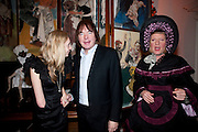 CERRIE BURNELL; JULIAN LLOYD WEBBER; GRAYSON PERRY, Founding Fellows 2010 Award Ceremony. Foundling Museum on Monday  8 March