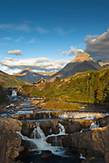 Swiftcurrent Falls, Glacier National Park.