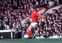 Fotball<br /> Manchester United historie<br /> Foto: Colorsport/Digitalsport<br /> NORWAY ONLY<br /> <br /> Bildene inngår ikke i nettavtalene<br /> <br /> PAT (PADDY) CRERAND. MANCHESTER UNITED. 17/5/69. Man United v Leicester City. 1968 /69 season.