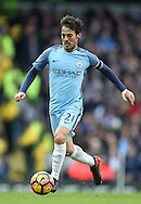 David Silva of Manchester City during the Premier League match at the Etihad Stadium, Manchester. Picture date: December 3rd, 2016. Pic Simon Bellis/Sportimage