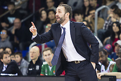 January 27, 2017 - Barcelona, Spain - Sito Alonso of Baskonia during the Euroleague Turkish Airlines EuroLeague regular season between FC Barcelona vs Baskonia Vitoria Gasteiz at Palau Blaugrana on January 28th, 2017 in Barcelona, Spain. (Credit Image: © Xavier Bonilla/NurPhoto via ZUMA Press)