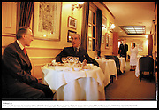 Wilton's 1.<br /> Wilton's. 55 Jermyn St. London SW1. 28/1/99<br /> © Copyright Photograph by Dafydd Jones  66 Stockwell Park Rd. London SW9 0DA  Tel 0171 733 0108
