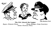 The Breaking Point ; Edmond Ryan , John Garfield and Patricia Neal....