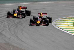 November 12, 2017 - Sao Paulo, Sao Paulo, Brazil - Drivers during the Formula One Grand Prix of Brazil at Interlagos circuit, in Sao Paulo, Brazil on November 12, 2017. (Credit Image: © Paulo Lopes via ZUMA Wire)
