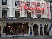 Agatha Christie Mousetrap, St Martin's theatre, London, England, 2008