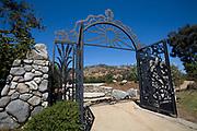 De Anza Gate, Los Angeles River. Glendale Narrows. Los Feliz, Los Angeles.