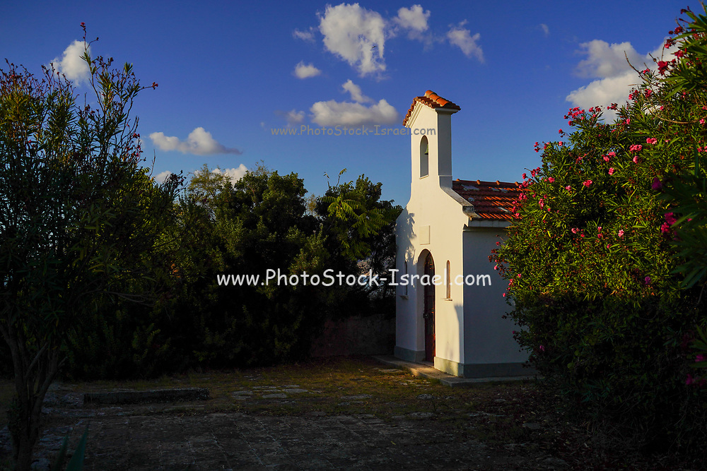 Small Greek Orthodox church, Fanari, Argostoli, Small Cephalonia, Ionian Islands, Greece