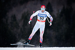 Barton Jan (CZE) during Man 1.2 km Free Sprint Qualification race at FIS Cross<br /> Country World Cup Planica 2016, on January 16, 2016 at Planica,Slovenia. Photo by Ziga Zupan / Sportida