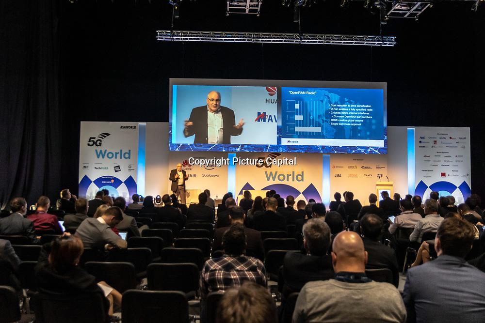 Speaker John Barker at 5G World Day Two at Excel London,on 12 June 2019, UK.