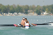 26/08/2003 Tuesday.2003 World Rowing Championships, Milan, Italy.. Milan. ITALY 2003 World Rowing Championships. Idro Scala Rowing Course. [Mandatory Credit: Peter Spurrier: Intersport Images.]Milan. ITALY GBR M8+ 2003 left to right, Alex PARTRIDGE, Dan OUSLEY, Jonno DEVLIN, Andy TRIGGS HODGE, Ed COODE, Phil SIMMONS and Robin BOURNE-TAYLOR. and Tom JAMES cox Acer NETHERCOTT. World Rowing Championships. Idro Scala Rowing Course. [Mandatory Credit: Peter Spurrier: Intersport Images]