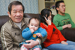 Chinese family.
