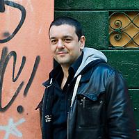 French illustrator Joann Sfar poses in Venice ahead of his talk for the Incontri di Civilta event in Venice. ----------------------<br /> Marco Secchi/XianPix<br /> email msecchi@gmail.com<br /> http://www.marcosecchi.com