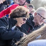 NLD/Biddinghuizen//20170305 - De Hollandse 100 - Stichting Lymph & Co 2017, Prinses Margriet en partner Meester Pieter van Vollenhoven