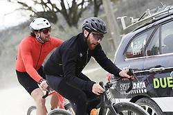 March 10, 2019 - Siena, Italia - Foto LaPresse - Fabio Ferrari.10 Marzo 2019 Siena (Italia).Sport Ciclismo.Gran Fondo Strade Bianche 2019 - Gara uomini - da Siena a Siena. Nella foto: durante la gara.Paolini, Moser..Photo LaPresse - Fabio Ferrari.March, 10 2019 Siena (Italy) .Sport Cycling.Gran Fondo Strade Bianche 2018 - Men's race - from Siena to Siena - 184 km (114,3 miles).In the pic: during the race. Paolini, Moser (Credit Image: © Lapresse via ZUMA Press)