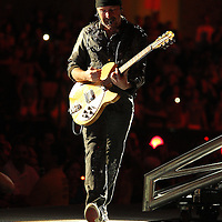 MINNEAPOLIS, MN - JULY 23:  The Edge of U2, performs at TCF Bank Stadium on July 23, 2011 in Minneapolis, Minnesota.  (Photo by Adam Bettcher/Getty Images) *** Local Caption *** The Edge