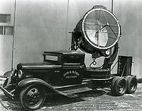 1935 Otto K. Olesen Co. lighting truck