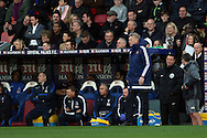 David Moyes, the Sunderland manager looks on from the touchline. Premier League match, Crystal Palace v Sunderland at Selhurst Park in London on Saturday 4th February 2017. pic by Steffan Bowen, Andrew Orchard sports photography.