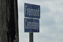 Freemont Cemetery in McLean County, east of McLean.