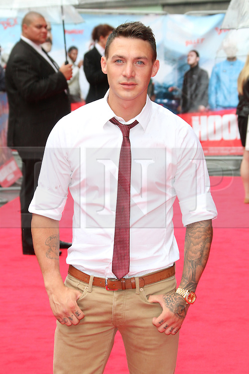 © Licensed to London News Pictures. 09/06/2014. London, UK Kirk Norcross, The Hooligan Factory - World Film Premiere, Odeon West End Leicester Square, London UK, 09 June 2014. Photo credit : Richard Goldschmidt/LNP