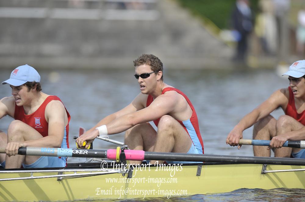 Gent, BELGIUM, MSA 4- Wallingford Rowing Club - M4-  final at the  International Belgian Rowing Championships, Sunday 10/05/2009, [Mandatory Credit. Peter Spurrier/Intersport Images]