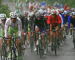The best in mountain overall classification Mitja Mahoric of Slovenia (Perutnina Ptuj)  in last 4th stage of the 15th Tour de Slovenie from Celje to Novo mesto (157 km), on June 14,2008, Slovenia. (Photo by Vid Ponikvar / Sportal Images)/ Sportida)