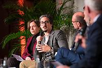 DEU, Deutschland, Germany, Berlin, 08.03.2019: Damiano La Rocca, Seable Ltd., Gründer und Geschäftsführer, beim Tag des barrierefreien Tourismus im Rahmen der Internationalen Tourismus-Börse (ITB) im CityCube.