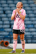 *** during the International Friendly match between Scotland Women and Jamaica Women at Hampden Park, Glasgow, United Kingdom on 28 May 2019.