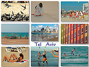 9 image Collage of Tel Aviv, Israel