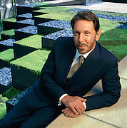Larry Ellison, software billionaire and CEO of Oracle Corporation at his home in San Francisco, California.