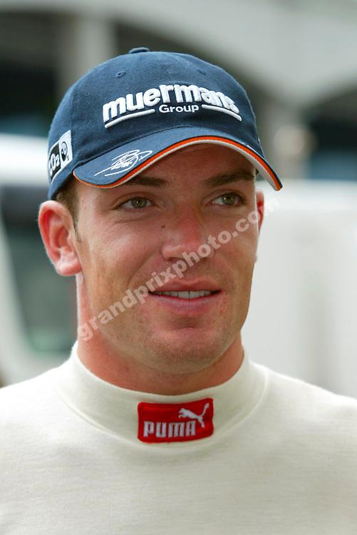 Minardi-Cosworth driver Robert Doornbos before the 2005 Turkish Grand Prix at Istanbul Park. Photo: Grand Prix Photo