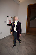 SIR ROY STRONG, Mark Weiss dinner, Nationaal Portrait Gallery. London. 15 October 2012.