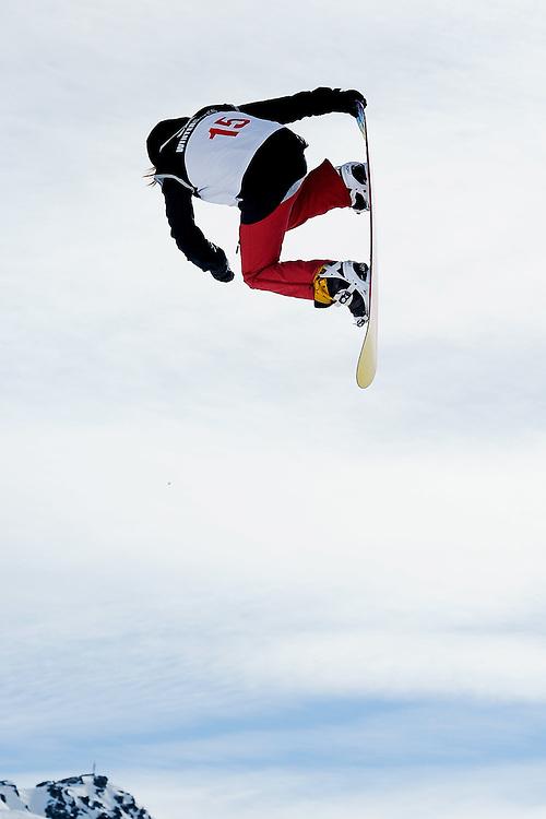 Shelly Gotleb, Snowboard Big Air, Winter Games, Cadrona Ski Field, Wednesday August 24, 2011...Photo by Mark Tantrum | www.marktantrum.com
