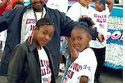 Drill team performers age 12 at Cinco de Mayo festival.  St Paul Minnesota USA