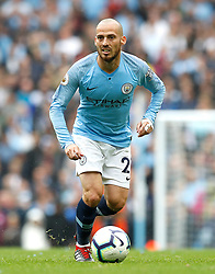 Manchester City's David Silva during the Premier League match at the Etihad Stadium, Manchester.