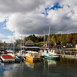 Sunapee Harbor on New Hampshire's Lake Sunapee.