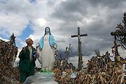 Hill of Crosses Pilgrimage site, Siauriai, Lithuania