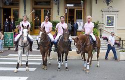 Monte Carlo Polo Cup Parade in Monaco / 160916<br /> <br /> ***  Monte Carlo Polo Cup Parade at Place du Casino, Hotel de Paris, Monaco, September 16, 2016 ***