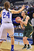 April 4, 2016; Indianapolis, Ind.; Jessica Madison lines up a shot in the NCAA Division II Women's Basketball National Championship game at Bankers Life Fieldhouse between UAA and Lubbock Christian. The Seawolves lost to the Lady Chaps 78-73.