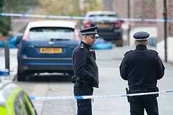 © Licensed to London News Pictures. 06/11/2018. Tulse Hill, UK. Murder investigation launched by police after the murder of a 16 year old boy in Tulse Hill last night.  Photo credit: Grant Falvey/LNP