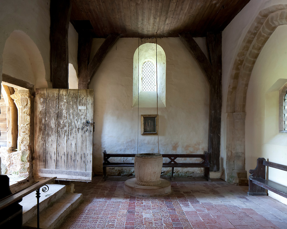Saint Michael's Upton Cressett, cared for by the Churches Conservation Trust