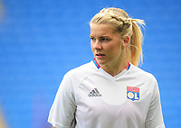 Olympique Lyonnais' Ada Hegerberg<br /> <br /> Photographer Kevin Barnes/CameraSport<br /> <br /> UEFA Women's Champions League Final - Pre match training session - Lyon Women v Paris Saint-Germain Women - Wednesday 31st May 2017 - Cardiff City Stadium<br />  <br /> World Copyright © 2017 CameraSport. All rights reserved. 43 Linden Ave. Countesthorpe. Leicester. England. LE8 5PG - Tel: +44 (0) 116 277 4147 - admin@camerasport.com - www.camerasport.com