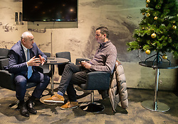 Radenko Mijatovic, president of NZS interviewed by Rok Viskovic of Siol Sportal, on December 19, 2017 in Arena Stozice, Ljubljana, Slovenia. Photo by Vid Ponikvar / Sportida