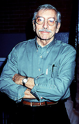 September 16, 2016 - Edward Albee, who won three Pulitzer Prizes and who wrote 'Who's Afraid of Virginia Woolf,' 'The Zoo Story,' 'Three Tall Women' and 'A Delicate Balance,' died Friday. He was 88. Albee died at his home in Montauk, N.Y. after an illness. PICTURED: 2002 - EDWARD ALBEE at ''The Beginning At August'' opening at Atlantic Theatre. (Credit Image: © Henry McGee/ZUMAPRESS.com)
