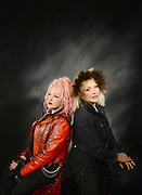 MANHATTAN, NEW YORK, OCTOBER 30, 2016 Cyndi Lauper and Debby Harry are seen together at Pacific Television Centre in Manhattan, NY. They will be touring together in Australia in April 2017. 10/30/2016 Photo by ©Jennifer S. Altman All Rights Reserved