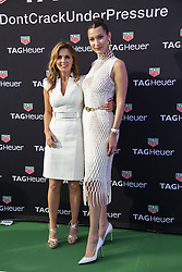 Bella Hadid, Geri Halliwell attend the Tag Heuer gala night (Don't crack under pressure) aboard a boat at Port Hercule during the 76th Grand Prix of Monaco in Monaco, on may 26, 2018. Photo by Marco Piovanotto/ABACAPRESS.COM