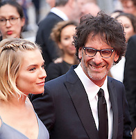 Director Joel Coen and Sienna Miller at the Closing ceremony and premiere of La Glace Et Le Ciel at the 68th Cannes Film Festival, Sunday 24th May 2015, Cannes, France.
