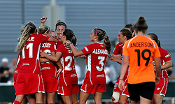 Bristol City Women celebrate Charlie Estcourt's goal - Mandatory by-line: Robbie Stephenson/JMP - 23/07/2016 - FOOTBALL - Stoke Gifford Stadium - Bristol, England - Bristol City Women v London Bees - FA Women's Super League 2